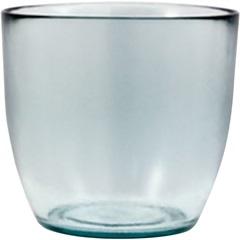Vaso Redondo Médio de Vidro - Ecoglass