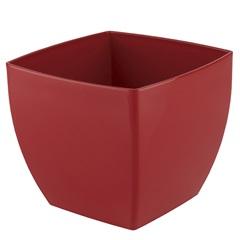 Vaso Siena Vermelho 14 Cm - Vasart