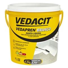 Vedapren Branco 4.5 Kg - Vedacit