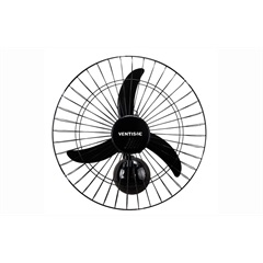 Ventilador de Parede 50 New Preto 110v  - Ventisol