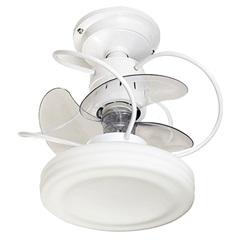 Ventilador de Teto com Controle Remoto Branco Bivolt - Treviso