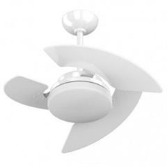 Ventilador de Teto com Luminária 130w 110v Máximo Aventador Branco
