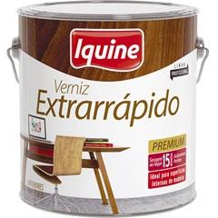 Verniz Extrarrápido Premium Mogno 3,6 Litros - Iquine