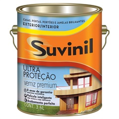 Verniz Ultra Proteção Natural 3,6 Litros Ref. 54421502  - Suvinil