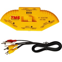 Vídeo/Áudio Switcher Ref. 26330 - TMS