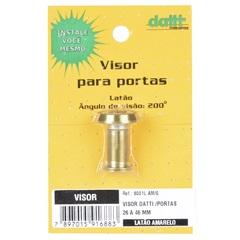 Visor de Porta Cromo Amarelo 8001 - Datti