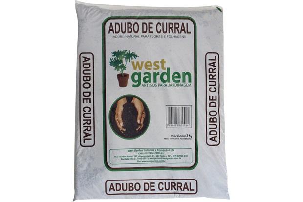 Adubo de Curral 2kg - West Garden