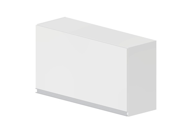 Armário Basculante Siena Branco  Bonatto  C&C -> Armario Banheiro Bonatto