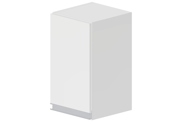 Armário Simples Siena Branco  Bonatto  C&C -> Armario Banheiro Bonatto
