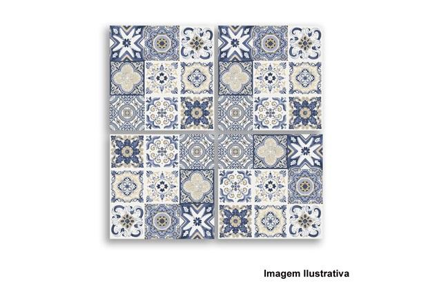 azulejo portugus mosaico bianco yellow