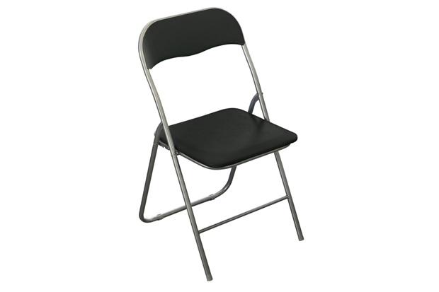 Cadeira Dobrável Preto  - Casanova