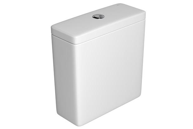 Caixa Acoplada com Acionamento Duo Unic/Piano/Polo E Quadra Branca - Deca