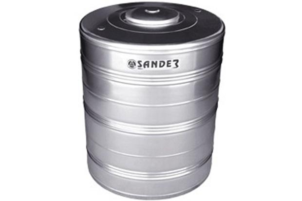 Caixa D' Água em Aço Inox 2.000 Litros Compacta Ac - Sander