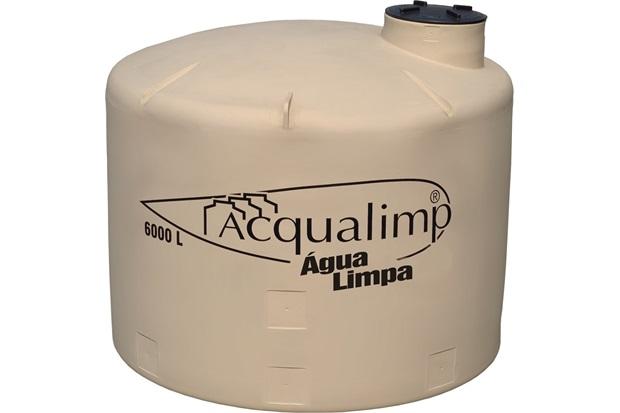 Caixa D'Água Tanque 6000 Litros  - Aqualimp