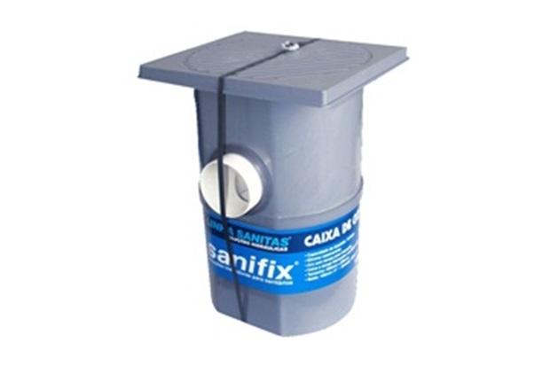 Caixa de Gordura 18 Litros Completa - Sanifix