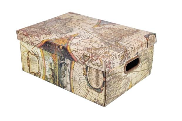 Caixa Organizadora Revista Mundi 36x25,5x14 Cm - Boxgraphia