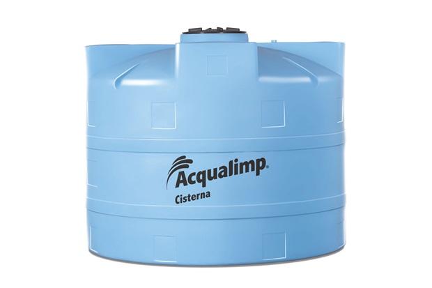Cisterna Para Gua Da Chuva 10000 Litros Azul Acqualimp