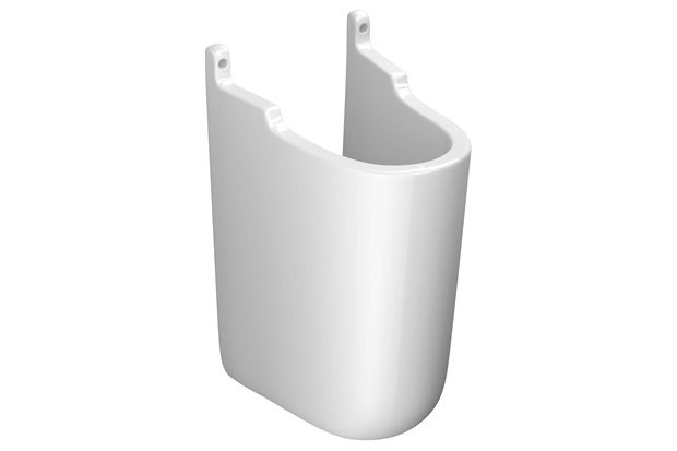 Coluna Suspensa para Lavatório Vogue Plus Gelo C510  Deca  C&C -> Como Instalar Pia De Banheiro Com Coluna Suspensa