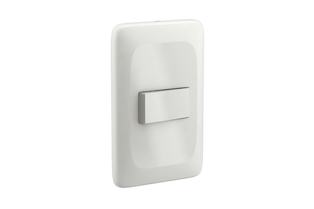 Conjunto 1 Interruptor Simples com Placa 4x2 Zuli  - Lorenzetti