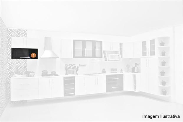 Cozinha Life Armário Alto Basc 80x35cm  Bonatto  C&C -> Armario Banheiro Bonatto