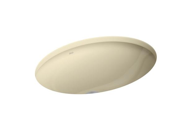 Cuba de Embutir Oval Deca 40x30cm Creme Ref L59  Deca  C&C -> Cuba Para Banheiro Deca Creme