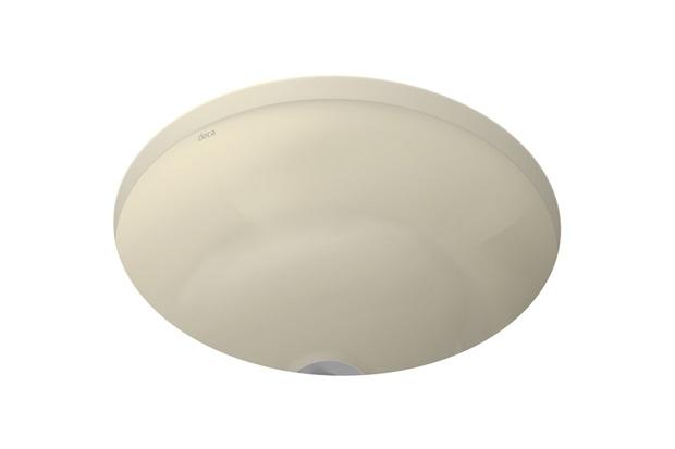 Cuba de Embutir Redonda Deca 36x36xcmc Creme Ref L41  Deca  C&C -> Cuba Para Banheiro Deca Creme