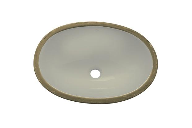 Cuba Oval de Embutir 49x36cm Palha Il601  Icasa  C&C -> Cuba Para Banheiro De Sobrepor Oval Branca Icasa