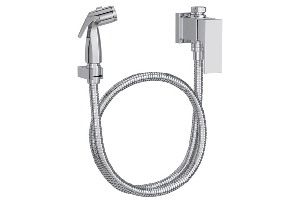 ducha higi nica com registro gatilho cromado unic deca c c
