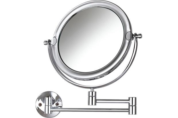 Espelho de Aumento de Parede Dupla Face Móbile - Crysbell