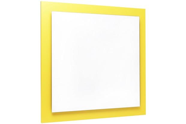 Espelho Ferrara 60 X 60 Cm Amarelo - Casanova