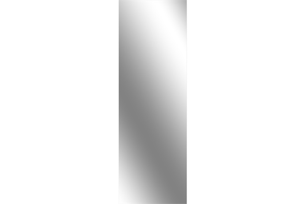 Espelho Lapidado Auto Adesivo 120x40cm - Euroquadros