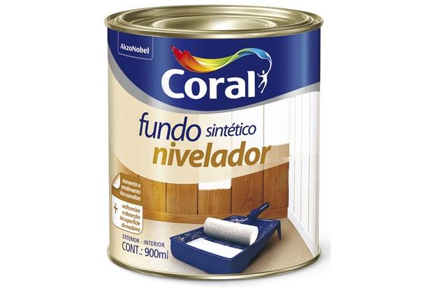 Fundo Sintético Nivelador Branco 900ml - Coral