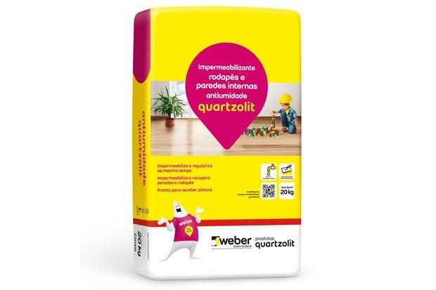 Impermeabilizante Anti Umidade 20 Kg  - Quartzolit