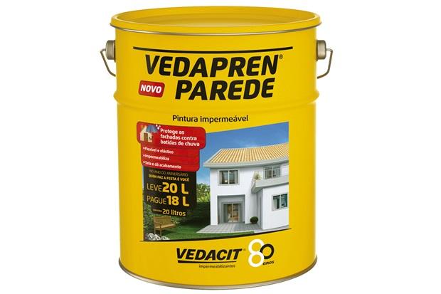 Impermeabilizante vedapren parede palha 20 litros - Impermeabilizante para paredes ...