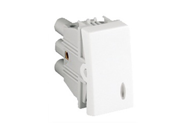 Interruptor Paralelo Base Luminosa sem Led 10a 250v Branco S30 - Simon
