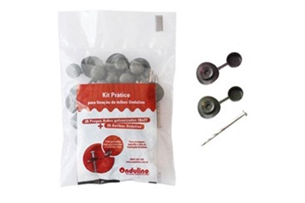 Kit para Fixação de Telha Vermelho/Marrom - Onduline