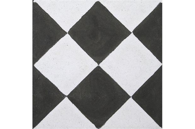 Ladrilho hidr ulico cubo preto e branco 20x20x1 9cm 1 pe a - Ladrillo hidraulico ...