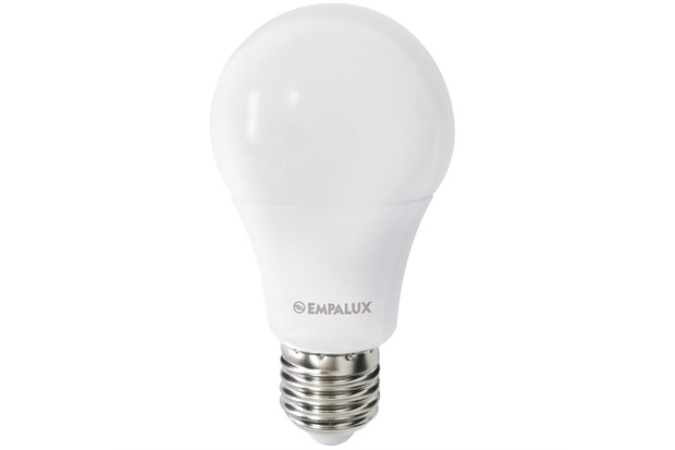 Lâmpada Led Bulbo 9w Bivolt 2700k Luz Amarela - Empalux