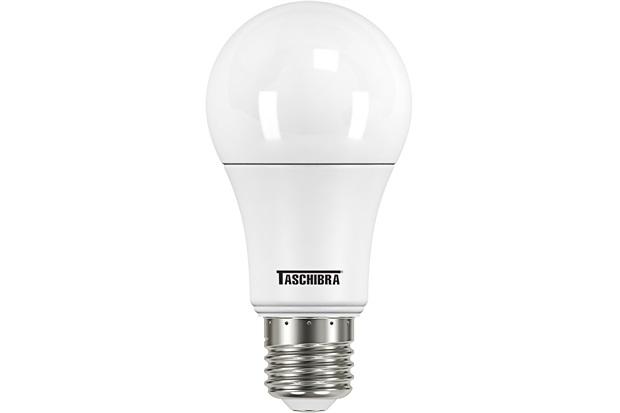 Lâmpada Led Bulbo Tkl 60 8,8w Autovolt 3000k Luz Amarela - Taschibra