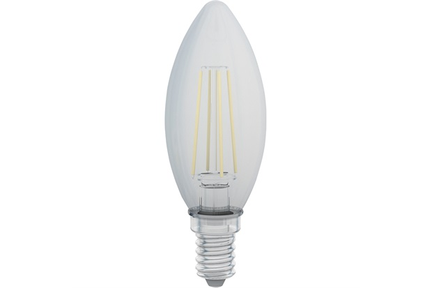 Lâmpada Led Decor Vela 4w 110v 1800k - Golden