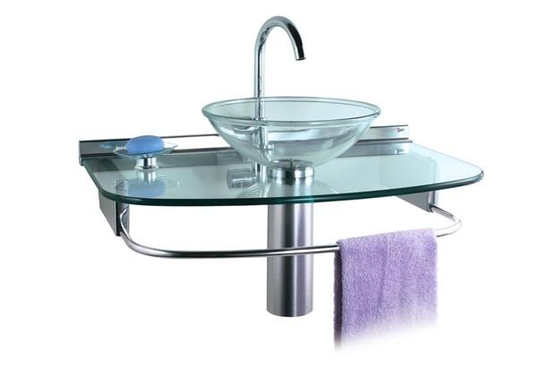 Lavabo quartzo com cuba de apoio ref 978 70x45 5 cm for Gabinete para lavabo