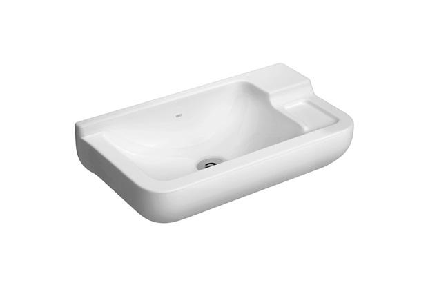 Lavatório Pequeno Izy 43 X 23,5 Cm Branco Gelo L100  Deca  C&C -> Lavatorio Banheiro Pequeno