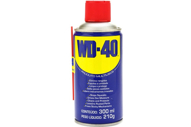 how to use wd 40 spray