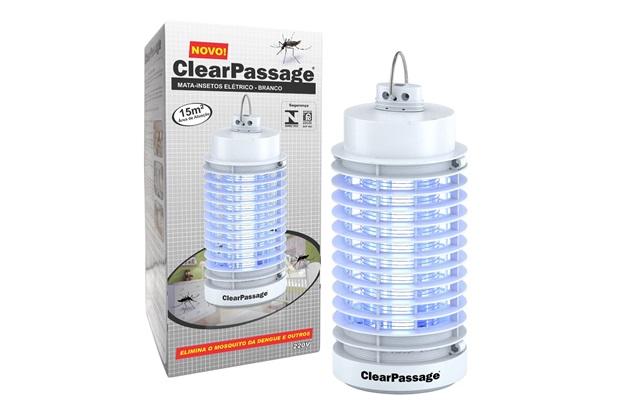Mata Insetos Elétrico Ecológico Branco 220v  - ClearPassage