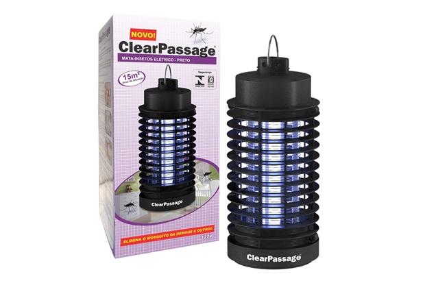 Mata Insetos Elétrico Ecológico Preto 110v  - ClearPassage