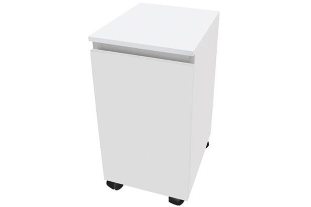 Módulo em Mdf Sicflex Roupeiro Branco  Sicmol  C&C -> Armario De Banheiro Cec