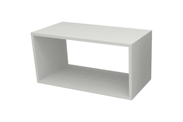 Nicho em Mdp Decore 30x60cm Branco - Multivisão