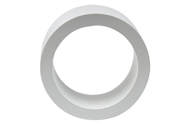 Nicho Redondo 32cm Branco  Decorprat  C&C -> Nicho Banheiro Cec