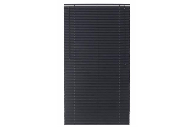 Persiana Horizontal Pvc Block Preta 80x160cm - Top Flex