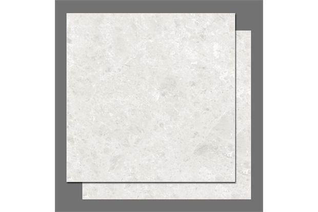 Piso Hd Branco Bahia 48x48 Cm Caixa 2.06 M²   - Pamesa